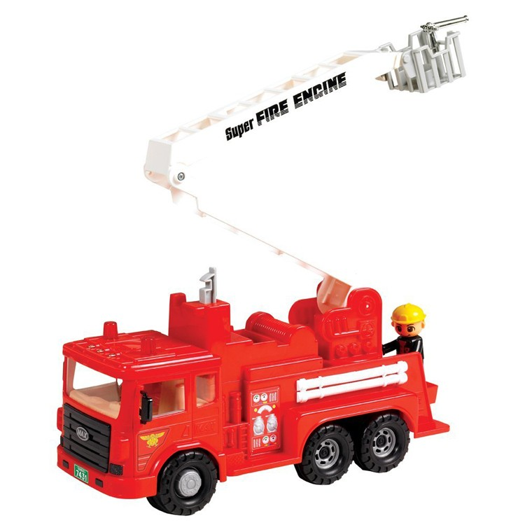 Toy Fire Engine Truck - Educational Toys Planet-3341