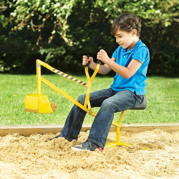 Digger Toys For Boys : The big dig kids ride on sand digger educational toys planet