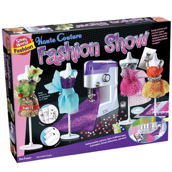 Haute Couture Sewing Machine Fashion Craft Educational Toys Planet Beauteous Sewing Kit For Sewing Machine