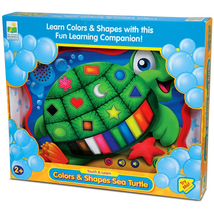 Electronic Learning Toys : Color shape turtle electronic learning toy educational