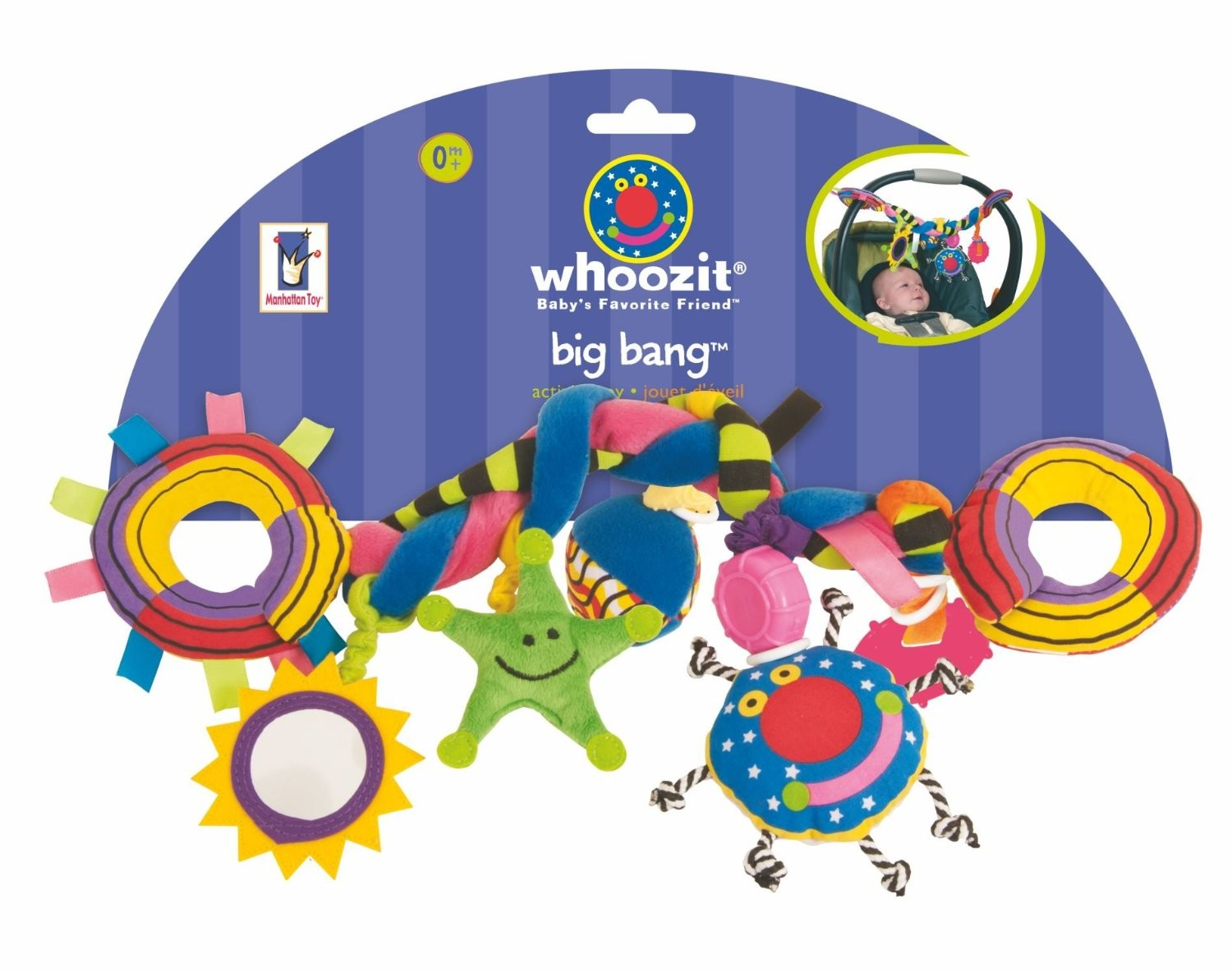 Whoozit Big Bang Car Seat & Stroller Baby Toy - Educational Toys Planet