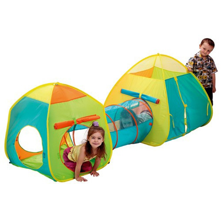 Combo Set - Tent and Tunnel Set for Kids.  sc 1 st  Educational Toys Planet & Combo Set - Tent and Tunnel Set for Kids - Educational Toys Planet