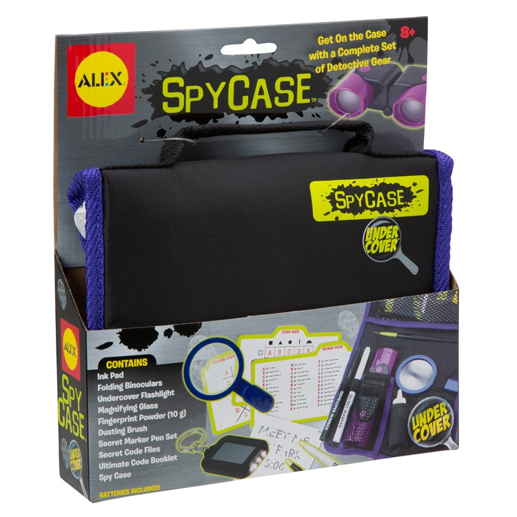 Cool Spy Toys : Spy case kids cool gear educational toys planet