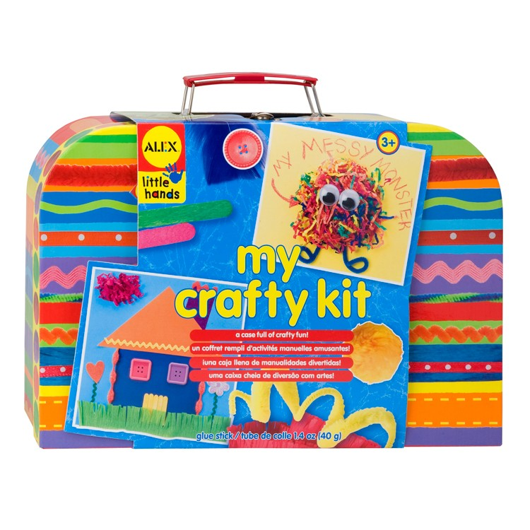 My crafty kit arts crafts kit educational toys planet for Arts and crafts gifts for 7 year olds