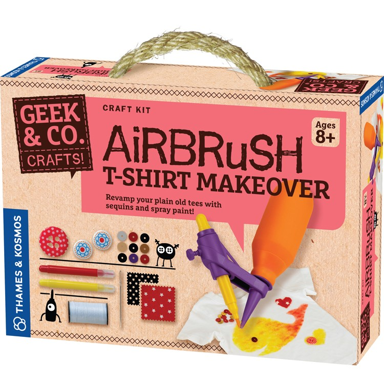 airbrush spray paint t shirt decorating craft kit. Black Bedroom Furniture Sets. Home Design Ideas
