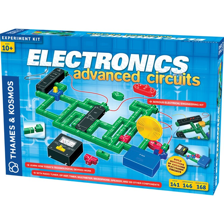 Electronic Learning Toys : Electronics advanced circuits science kit educational