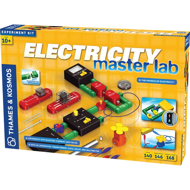 Electricity Master Lab Deluxe Science Kit - Educational ...