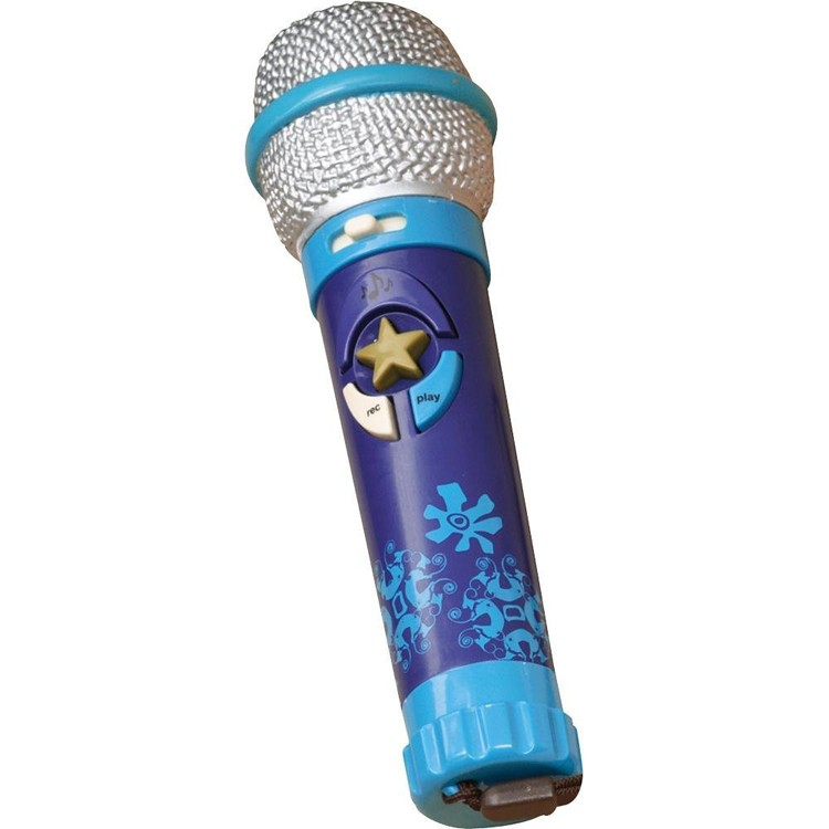 B Okideoke Toy Wireless Recording Microphone