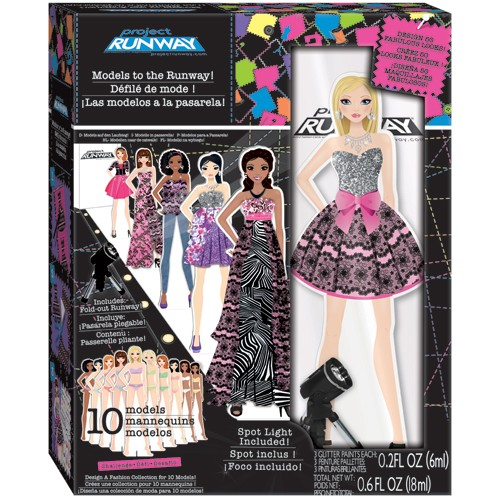 Project Runway 10 Models To The Runway Girls Craft Kit Educational Toys Planet