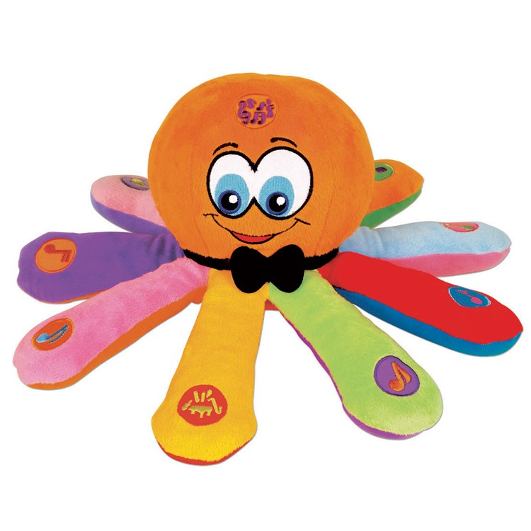 Baby Musical Toys : Ollie the octopus baby musical toy educational toys planet