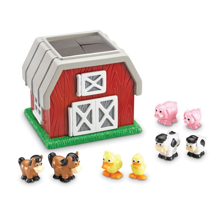 Outdoor Play Toys For Preschoolers : Hide n go moo barn animals toddler play set educational