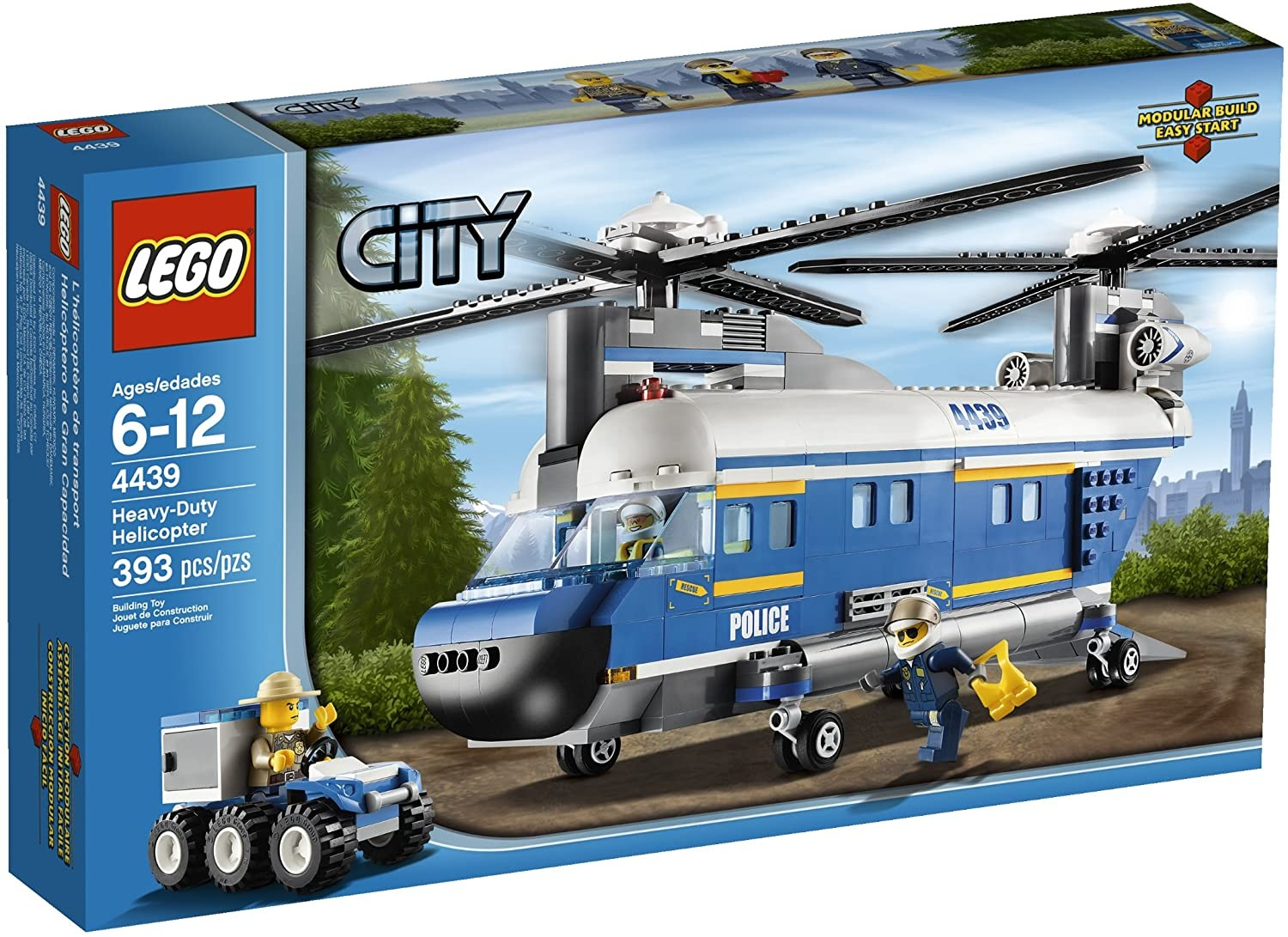 Lego City Police Heavylift Helicopter - Educational Toys ...