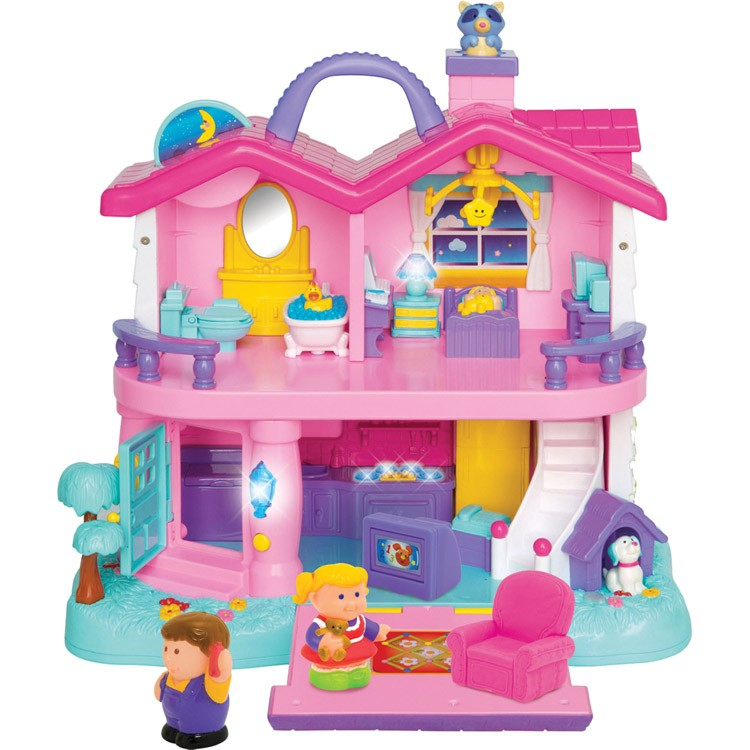 Toys For House : Light and sound toddler first dollhouse educational toys