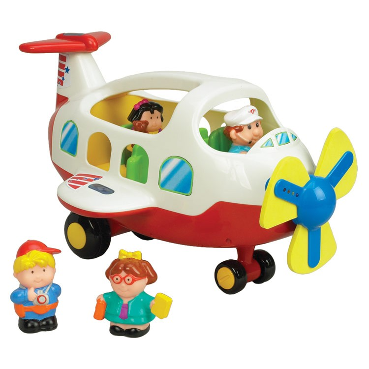 Toys For Preschool : Activity toy plane light sound playset for toddlers
