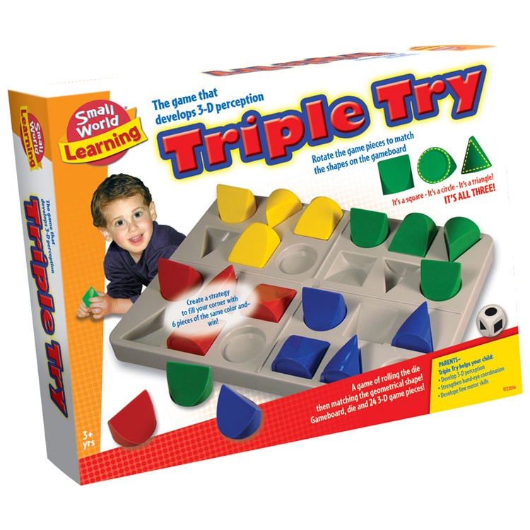 Triple Try 3D Perception Thinking Game - Educational Toys Planet