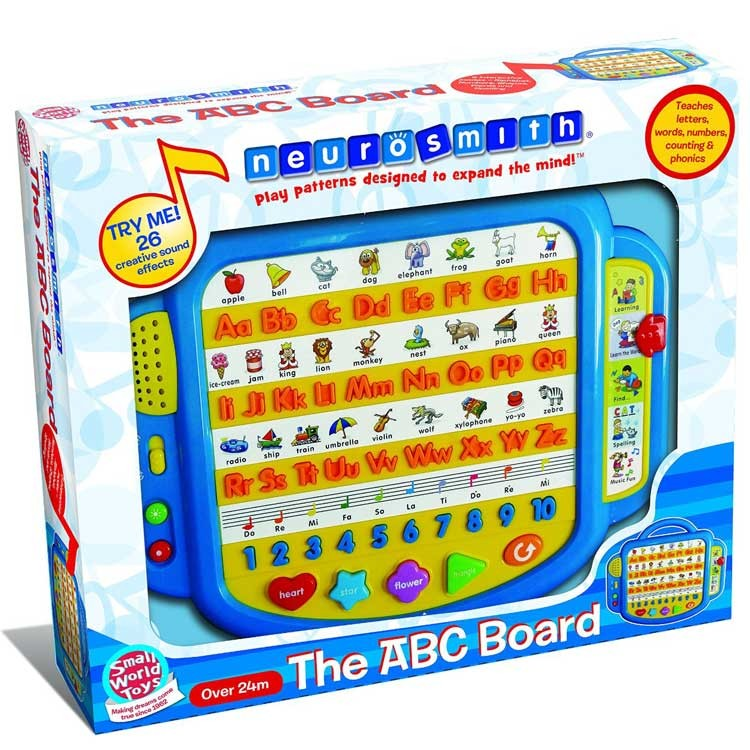 Electronic Learning Toys : Abc board play learn electronic toy educational toys