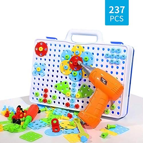 3D Building Puzzle with Drill Screws Tools Toys Animals Construction Puzzles