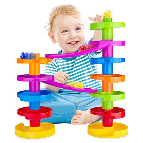 Ball Drop Educational Toy with Bridge - Advanced Spiral ...