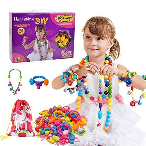 Pop Beads 8 Year Old to Ma 600+Pcs Pop Snap Beads Kit for Girls 3 7 4 6 5