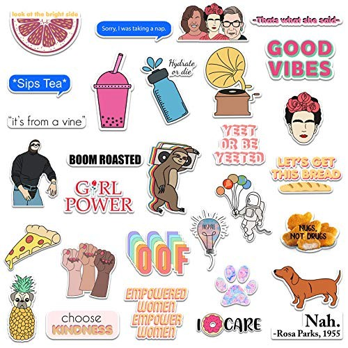 30 Vegan antispecist water resistant stickers 7EW-2 To stick on animal products edition