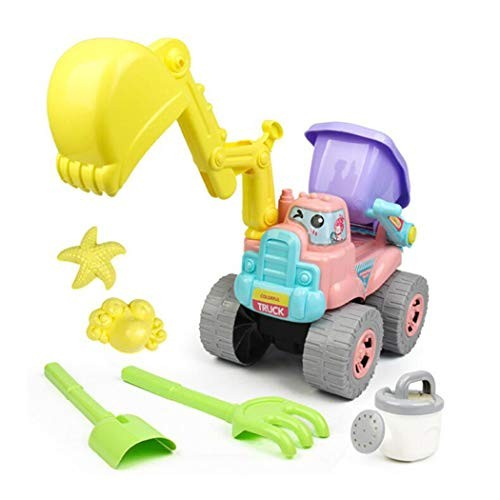 Rake and More Accessories IQ Toys Budding Gardener Wagon and Tool Set for Kids 16 Pieces with Soil Planting Pots Gardening Seeds Water Pail
