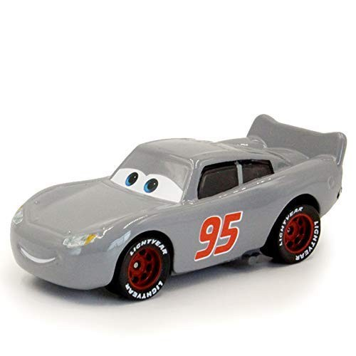 Pixar Cars Toys Lightning Mcqueen Grey Mcqueen Mack Hauler Truck Racer Metal Toy Educational Toys Planet