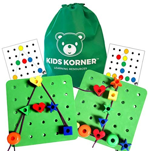 Wooden Pegboard Shape Sorter Set Board Block Stack Sort Game for Kids BAIVYLE Preschool Learning Toys Peg Board Letters and Numbers Construction Puzzle Educational Stacking Blocks Toy Sets