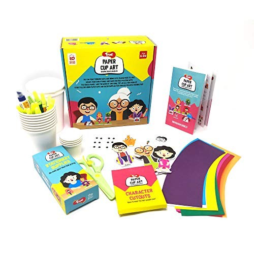 Great Return Gift for Birthdays Sewing Kit for DIY Soft Toy Toiing Stitchtoi Indoor Toy with Story for Kids Age 5 Years /& Above Monty The Monkey Art /& Craft Kit
