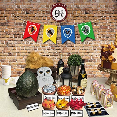 Childrens birthday party supplies Magical Wizard birthday banner,Magical Wizard theme party decoration