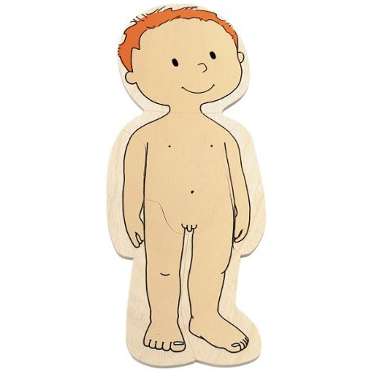 Boy Human Body Learning Puzzle Educational Toys Planet