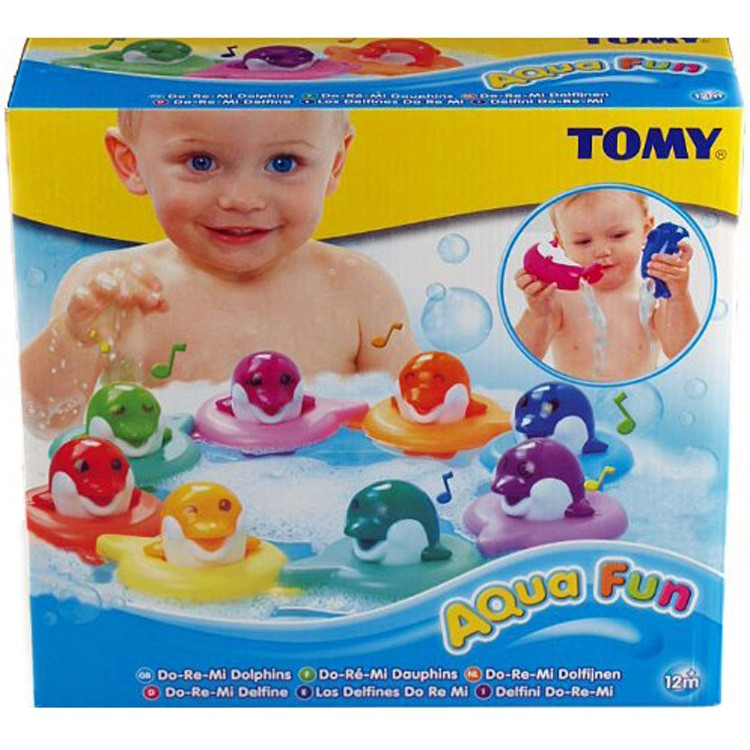 Do Re Mi Dolphins Musical Bath Toy - Educational Toys Planet