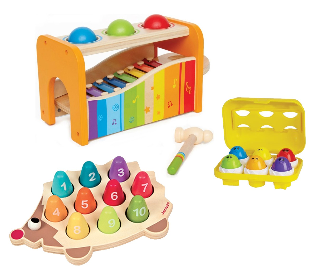Toddler Toys Physical Toys : Cognitive development kit for months educational