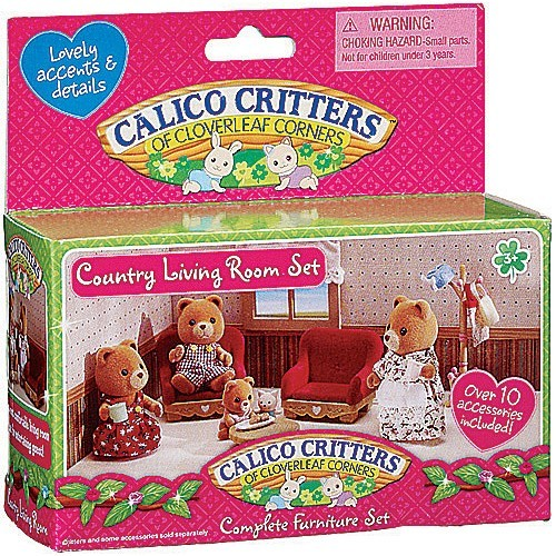 Country Living Room Sets. Calico Critters Country Living Room Set  Educational Toys Planet