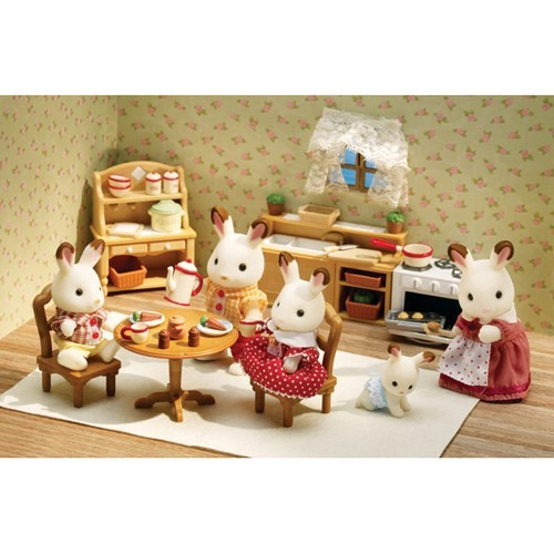 Calico Critters Deluxe Kitchen Set Educational Toys Planet