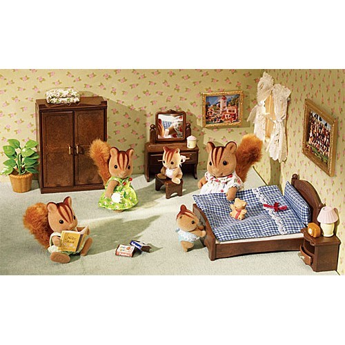 Calico Critters Bedroom: Calico Critters Master Bedroom Set