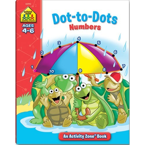 Dot-to-Dots Numbers Activity Workbook - 32 Pages - Educational ...