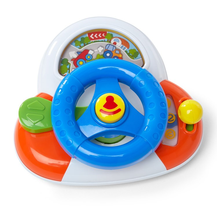 Baby Driver Steering Wheel Baby Toy - Educational Toys Planet