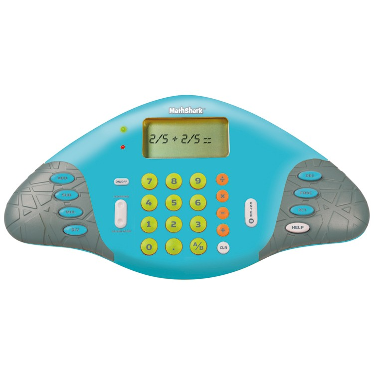 Game Toys To Practice : Math shark practice skills electronic game