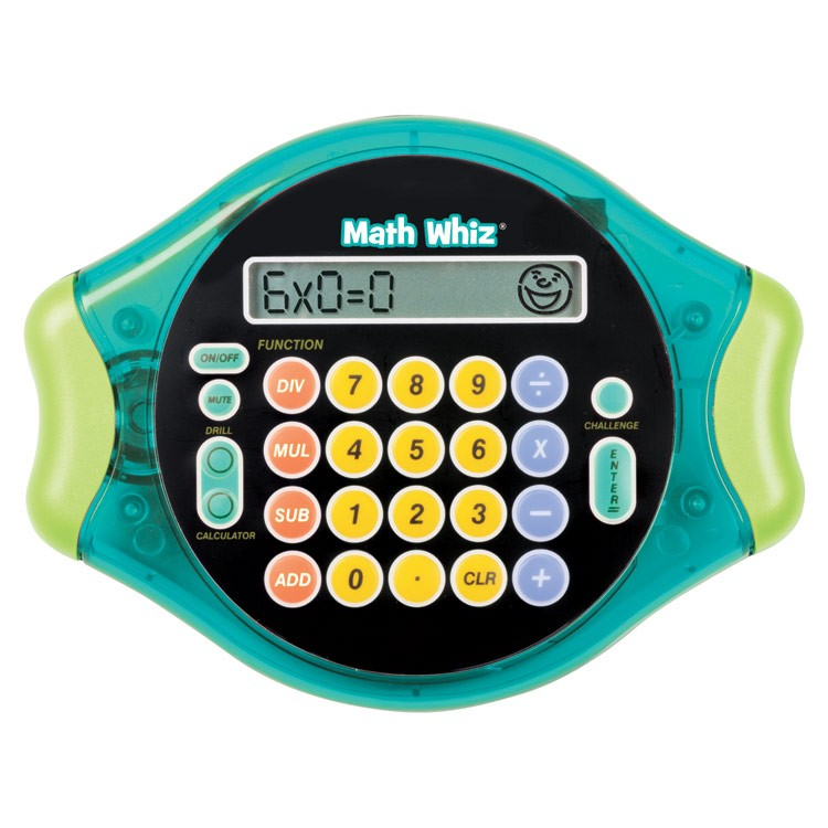 Math Whiz Electronic Learning Handheld Game - Educational Toys Planet