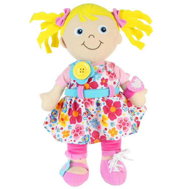 Learn to dress doll emily educational toys planet