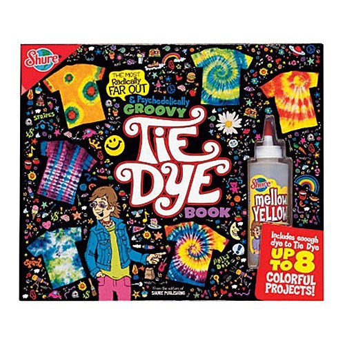 Groovy tie dye book craft kit educational toys planet for Arts and crafts for 10 year old girls