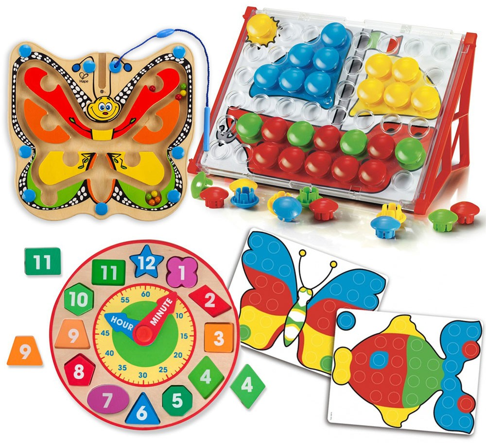 Cognitive Learning Toys : Cognitive development kit of toys for years