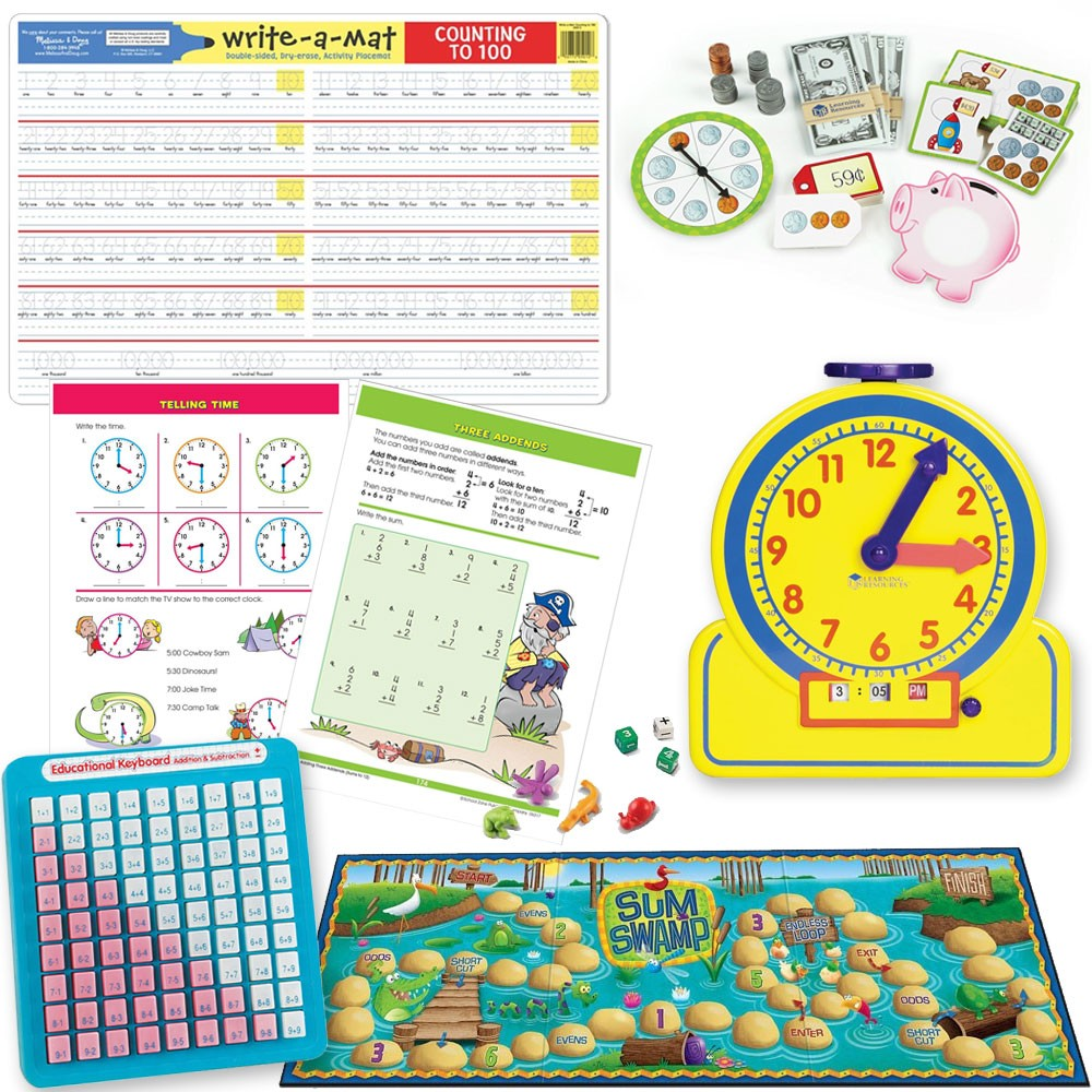 Toys For Grade 1 : St grade math readiness learning toys set for years
