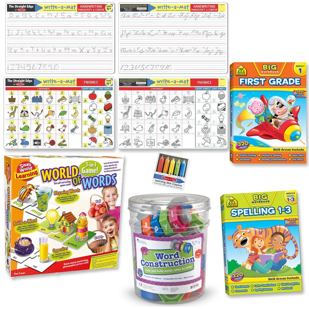 Toys For Grade 1 : St grade language skills play learn kit reading