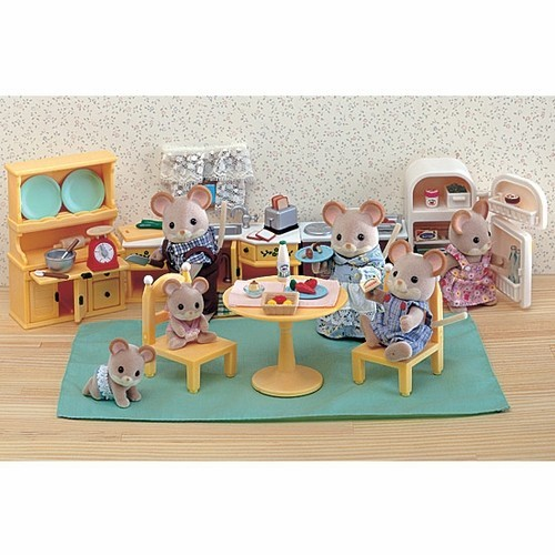 Customers Who Viewed Kozy Kitchen Set   Calico Critters Furniture Also  Viewed