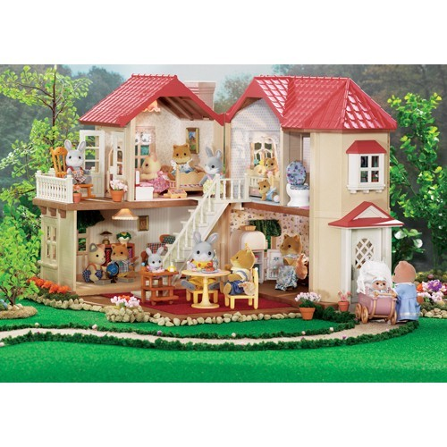 calico critters luxury townhome   educational toys pla