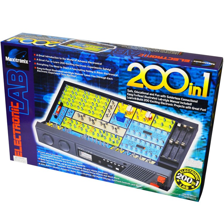Electronic Project Lab 200 in 1 Science Kit - Educational Toys Planet