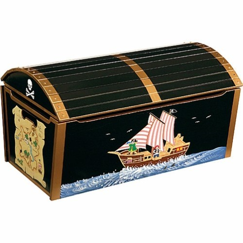Toy Treasure Chest Beach : Pirate treasure chest toy educational toys planet