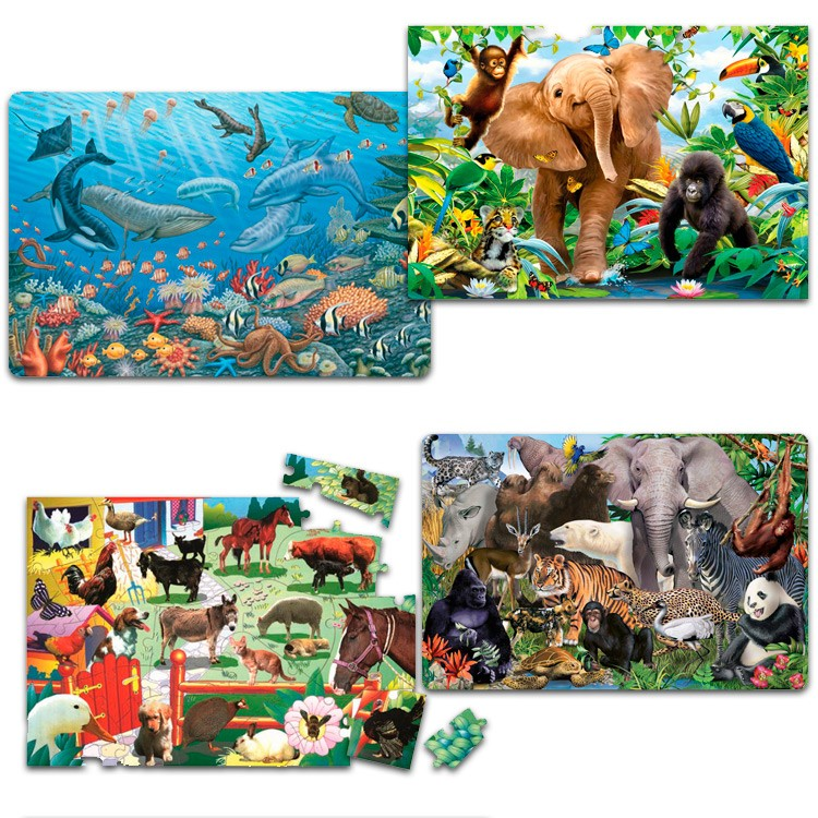dinosaur toys index puzzles doug puzzle floor melissa gifts and