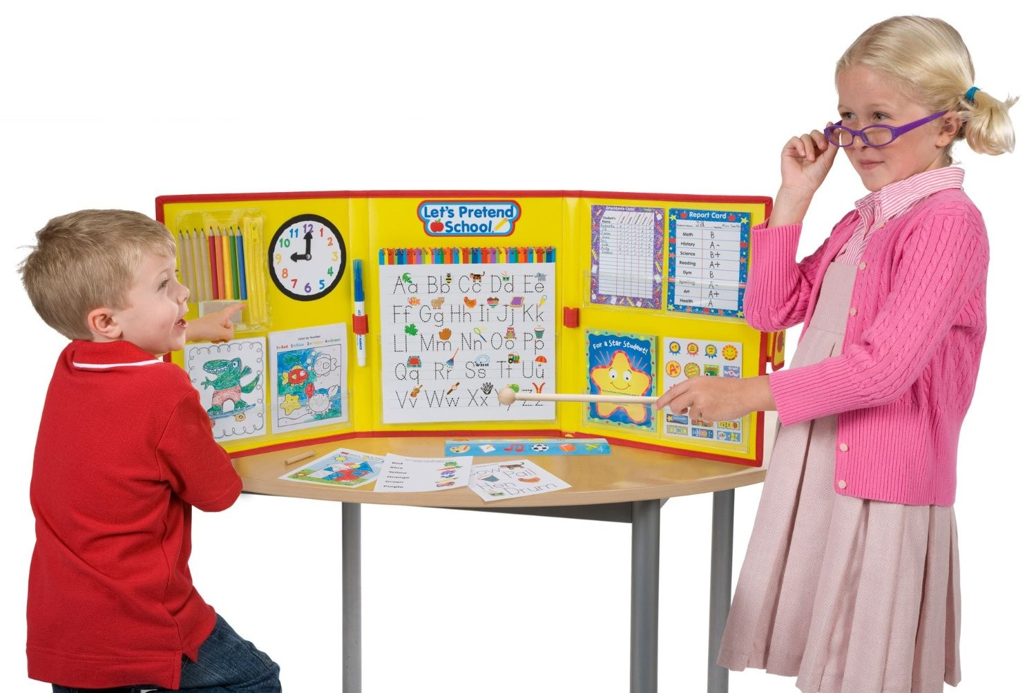 Toys For School : Let s pretend school pc play set educational toys planet